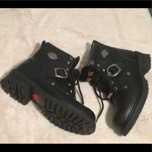 Harley-Davidson Shoes - Harley Davidson Women's Moto Boots, 8